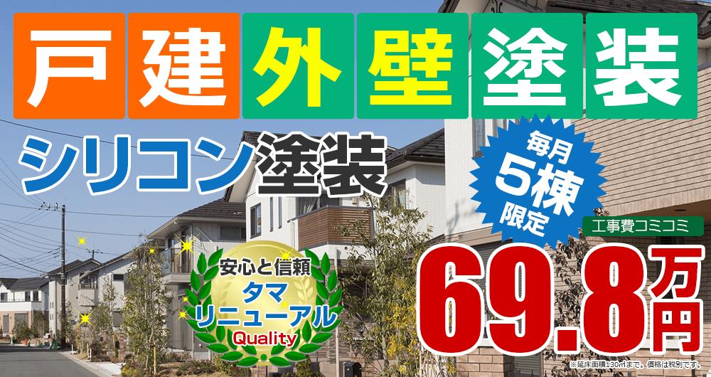 アパートマンション向け塗装塗装 698000万円
